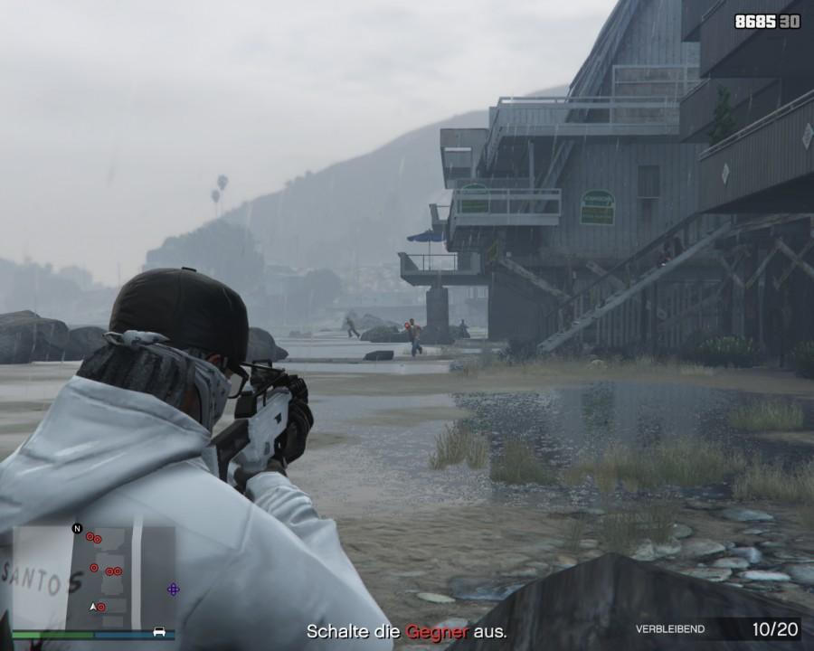 Gang-Angriff in GTA Online